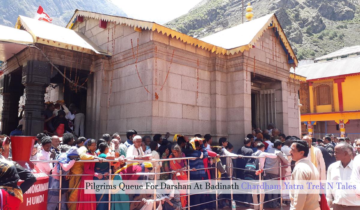 Badrinath Yatra temple darshan