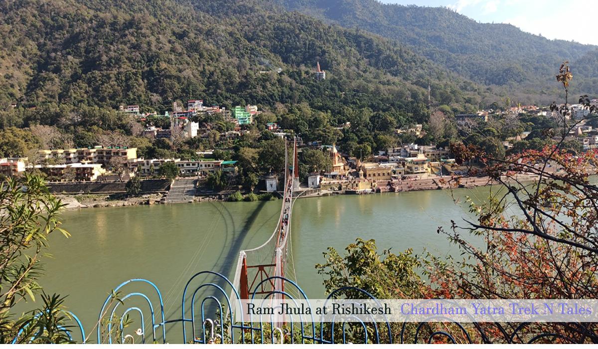 Rishikesh from here chardham yatra begins