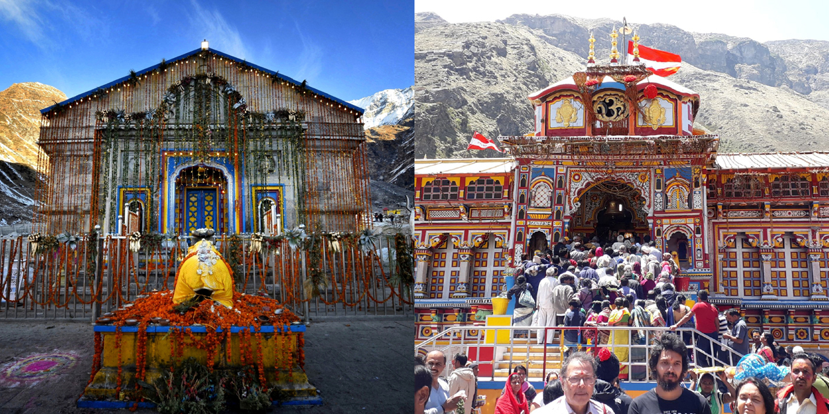 do dham yata kedarnath -Badrinath