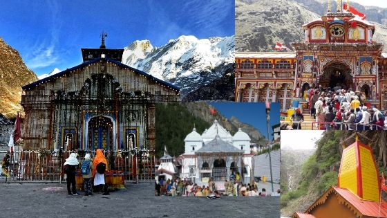 all four chardham temples
